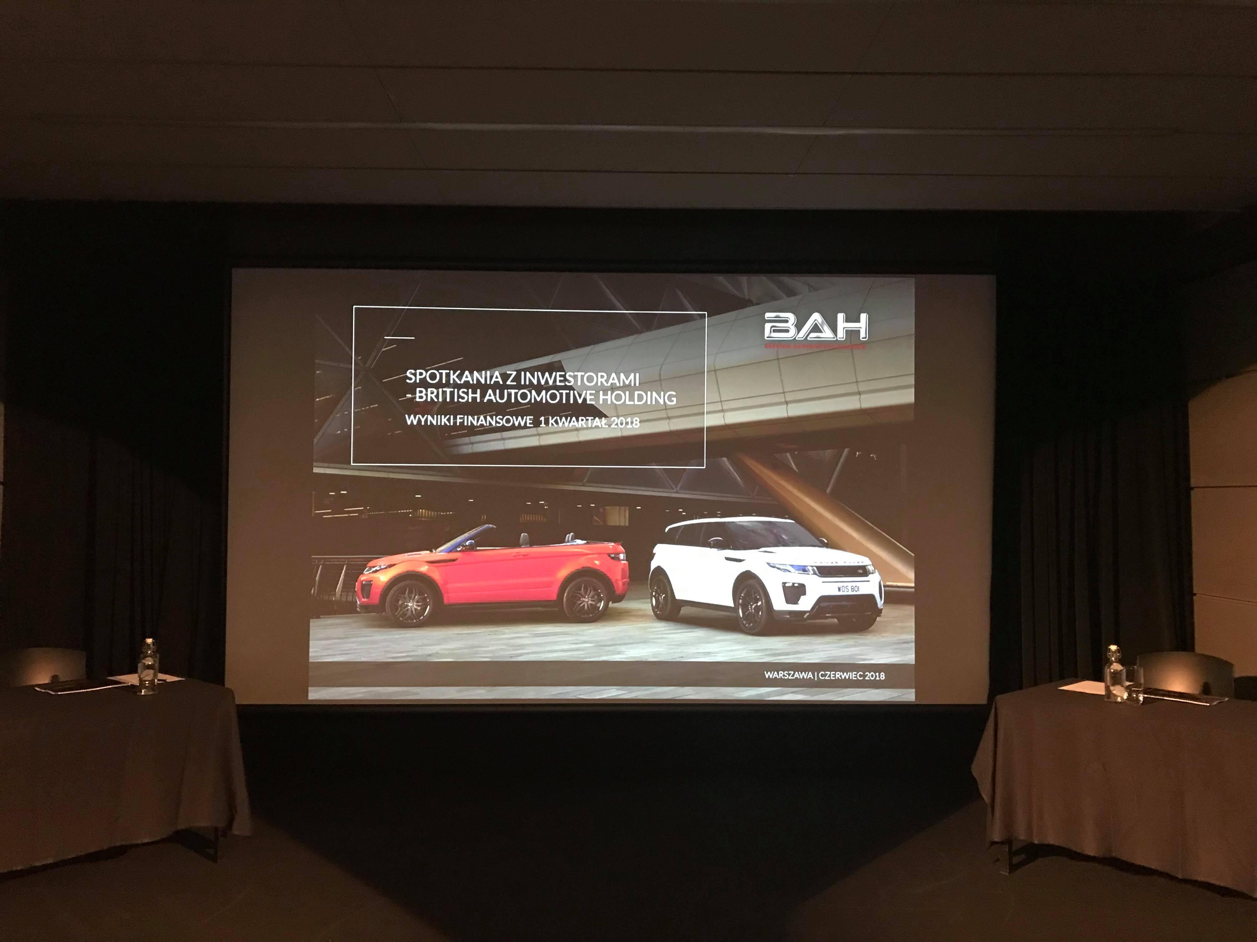 British Automotive Holding podtrzymuje plany dywidendowe