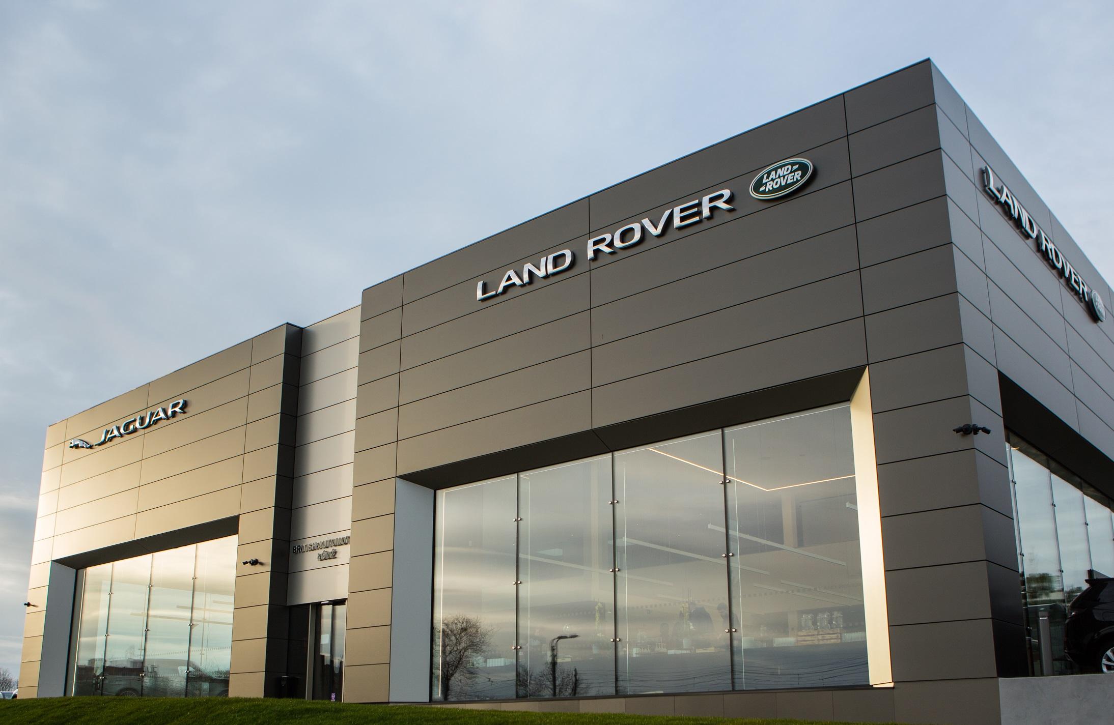 Środki ostrożności w salonach Jaguar i Land Rover